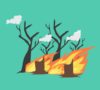 Dishut Muratara Antisipasi Kebakaran Lahan