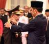Jokowi Lantik Tito Karnavian Jadi Kapolri