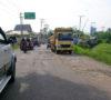 Tak Kunjung Diperbaiki, Pemkot Perbaikan Jalan Negara