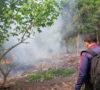 Lahan Kosong Jalinsum Terbakar
