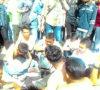 Tawuran Setelah Upacara, Bawa Bambu Runcing, Puluhan Siswa Digelandang Polisi