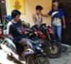Lagi Makan Nasi Gemuk, Dua Pelaku Curanmor Diringkus Polisi
