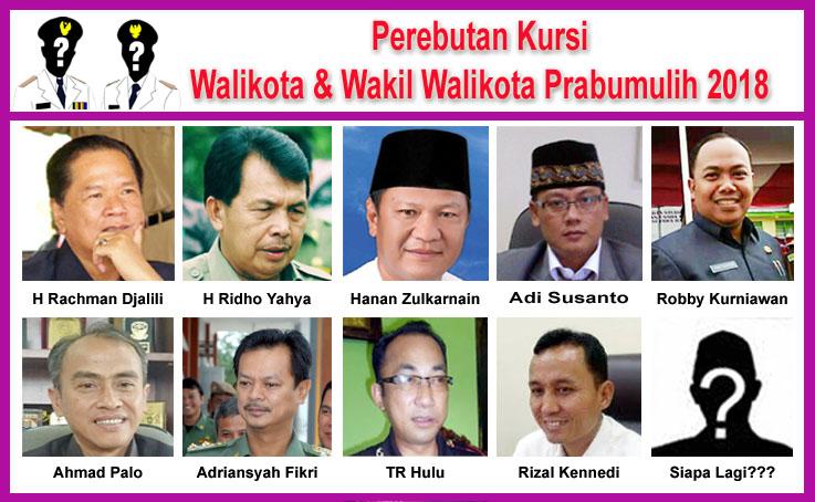 Pilkada Prabumulih 2018, Ridho Menunggu, Hanan Putra Daerah, Rachman Tunggu Keputusan, Adi Susanto Lakukan Lobi