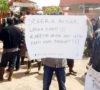 Ratusan Karyawan Mitra Ogan Gelar Aksi Demo