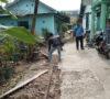 Pekarangan Rumah Warga Rusak, Galian Pipa Gas Kota Dibiarkan Terbengkalai