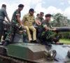 Pangdam II/Sriwijaya Tinjau Kesiapan Prajurit Dalam Latihan Menembak