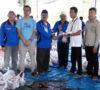 Pertamina Pendopo Bagikan 37 Ekor Hewan Kurban