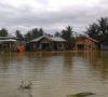 Korban Banjir Sidoarjo Terpaksa Mengungsi