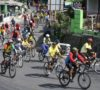 Pembalap Sepeda Putari Etape Kuningan