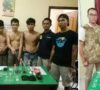 Dua Hari, 4 Tersangka Narkoba Dibekuk Polisi