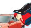 Kaca Mobil Dipecah, Pencuri Bawa Tas Berisi Berkas Proyek
