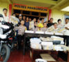 Waw… Narkoba Dikendalikan Dari Nusa Kambangan, Ganja 33,5 Kg Siap Diedarkan di Prabumulih