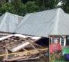 Puting Beliung Hantam Rumah Warga Pemulutan Selatan, 17 Rumah Roboh