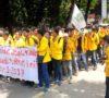 Massa Aksi 121 Serbu DPRD Sumsel