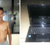 Curi Laptop, Husni Diringkus Polisi