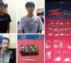 Pesta Narkoba Dalam Kebun, 2 Pengedar Shabu dan 1 Pemakai Ganja Diringkus Polisi