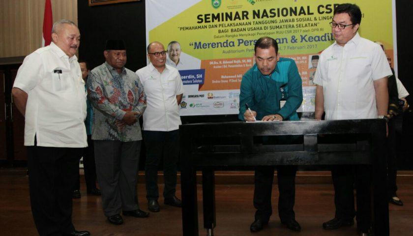 Gubernur Buka Seminar Nasional CSR