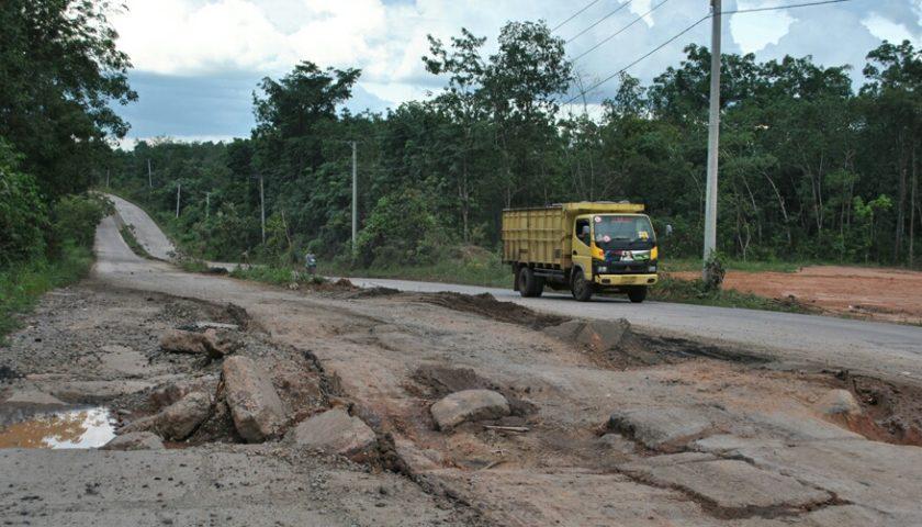 40 M Untuk Perbaikan Jalan Lingkar