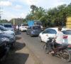 Kembali, Angkutan Batubara Lumpuhkan Jalinsum Muaraenim-Palembang