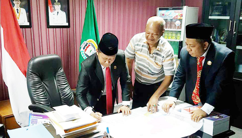 Wako dan Ketua DPRD Setujui Peta Calon Pemekaran Kabupaten Gelumbang