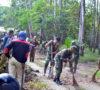 Bhakti Sosial TNI, Serbu Drainase TPU