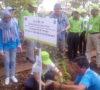 Bupati OKI Ajak Delegasi Bonn Challenge Tanam Bibit Pohon