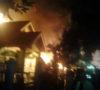 Diduga Gudang Minyak, Rumah Oknum TNI Meledak, 3 kali Bunyi Ledakan