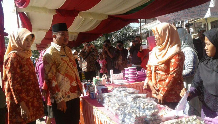 Pemkab Pali dan DWP Gelar Bazar Murah