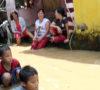 Kampung Warna Warni Diterjang Banjir Bandang