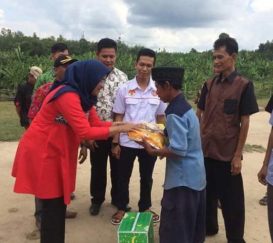 JPKP Dan Gerakkan Pali Membaca Bagikan Sembako, Bantu Prasana Pendidikan