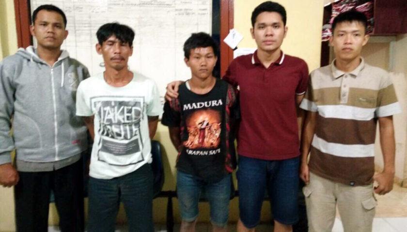 Polsek Rambang Dangku Ringkus Dua Pelaku Curas