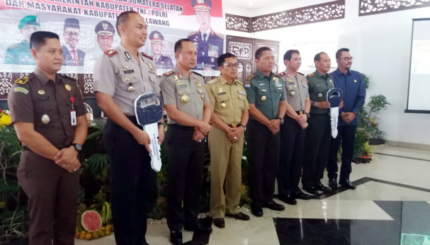 Kunjungan Kapolda Sumsel dan Pangdam II Sriwijaya Disambut Bupati Empat Lawang