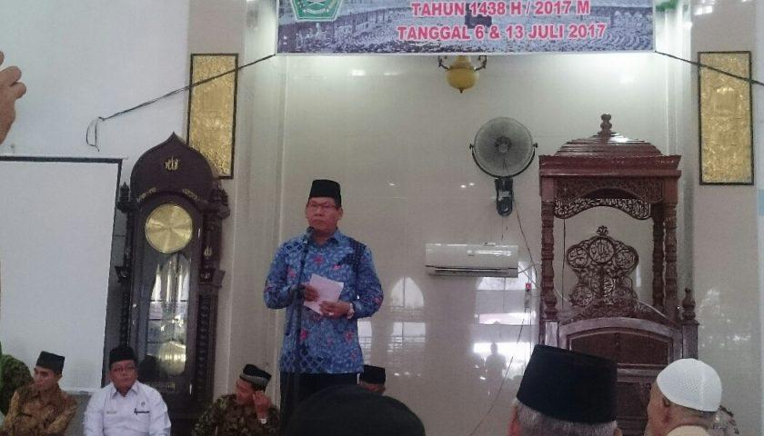 274 CJH Muaraenim Diberi Bimbingan Manasik Haji