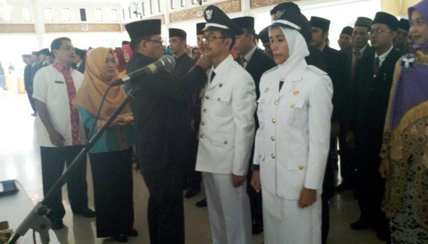 Bupati Muaraenim Lantik 149 Pejabat Administrasi dan Pengawas