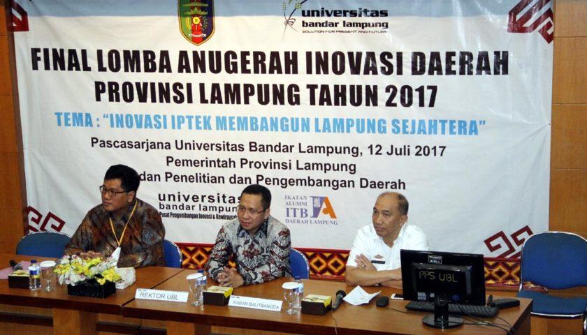 UBL Kembali Dipercaya Balitbangda Tuan Rumah Final Lomanida Lampung 2017