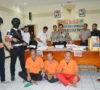 3 Pengedar Diringkus, Rumah Bandar Narkoba di PALI Digerbek Polisi