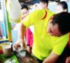 Berkah 17an, Siswa SMK N 1 Merdeka Makan di Kantin