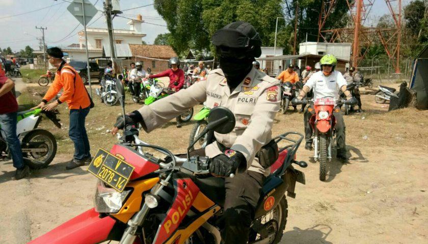 Tim Gabungan Karhutla  dan Wabup Pali Ikut Patroli