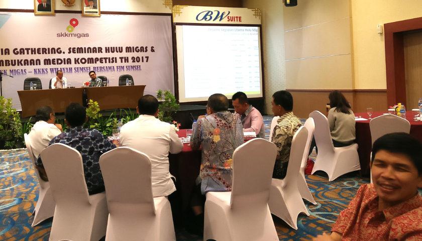 Kembali, FJM dan SKK Migas Sumsel Gelar Seminar Hulu Migas