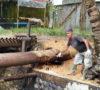 Pipa Pertamina Bocor, Keluarkan Semburan Minyak Mentah Sampai 5 Meter
