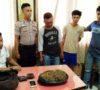 1 Kilo Ganja Gagal Beredar di Kota Prabumulih