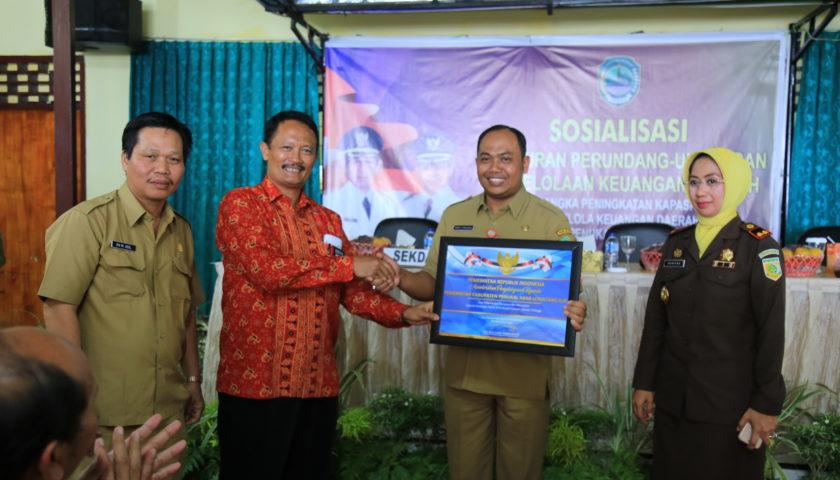 Pemkab PALI Dapat Penghargaan WTP