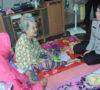 Kapolres Besuk Nenek Zainap