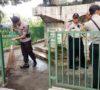 Kodim 0406 MLM dan Brimob Bersih-bersih Museum dan Makam Pahlawan