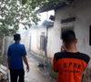 Dua Rumah Nyaris Ludes Dilalap Api