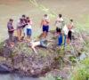 Warga Lampung Ditemukan Mengapung