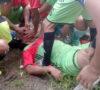 Usai Main Sepakbola, Monang Meregang Nyawa