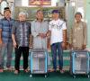 Tim SAR Berangkatkan Umroh Pengurus Masjid dan Pengurus Kematian