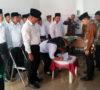 Panwascam Sanga Desa Lantik 19 Anggota PPL