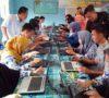 Hadapi UNBK, SMAN 1 Sanga Desa Khawatir Soal Signal Internet dan Listrik
